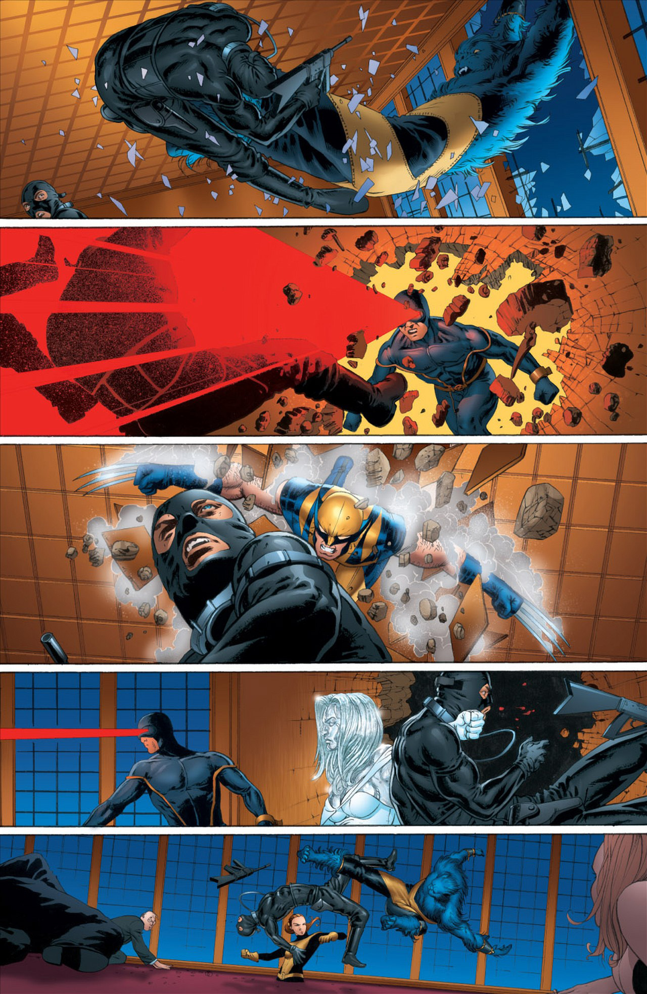The Astonishing X-Men Deals With A Hostage Situation