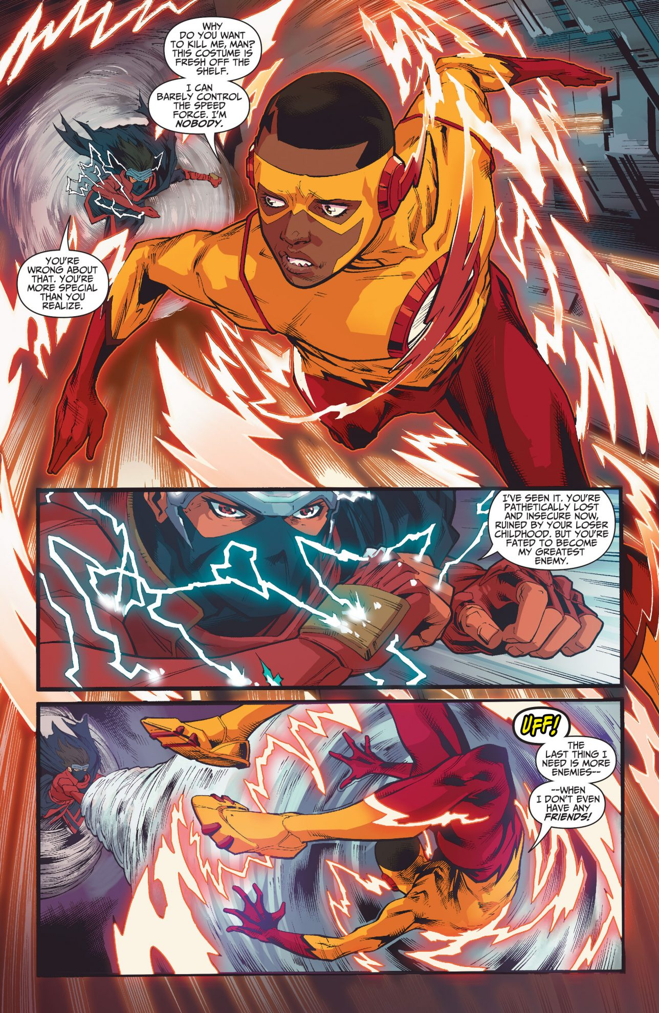 The Demon's Fist VS The Teen Titans