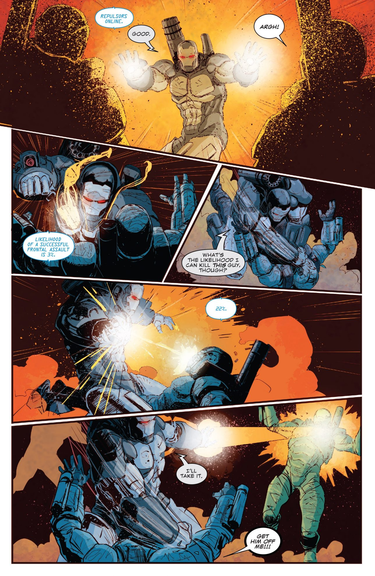 The Punisher VS Rogue SHIELD Agents