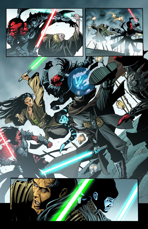 Wolf Sazen And Shado Vao VS Sith