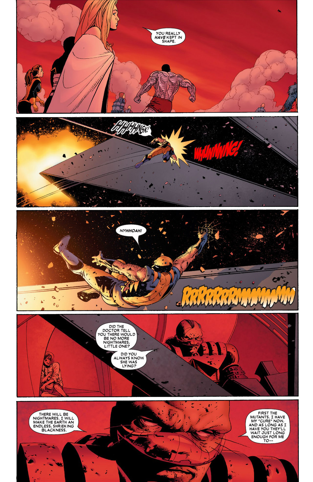 Wolverine And Colossus Fastball Special (Astonishing X-Men)