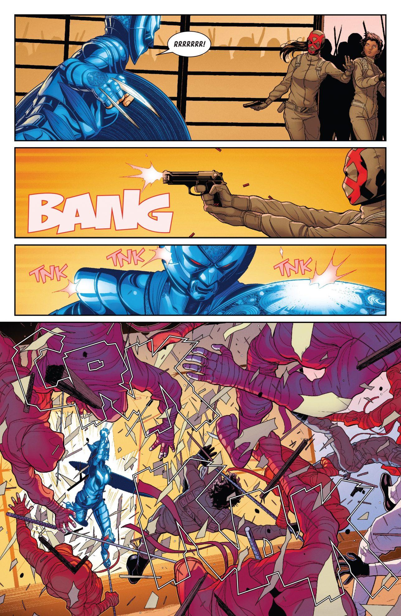 All New Wolverine In Murumasa's Armor