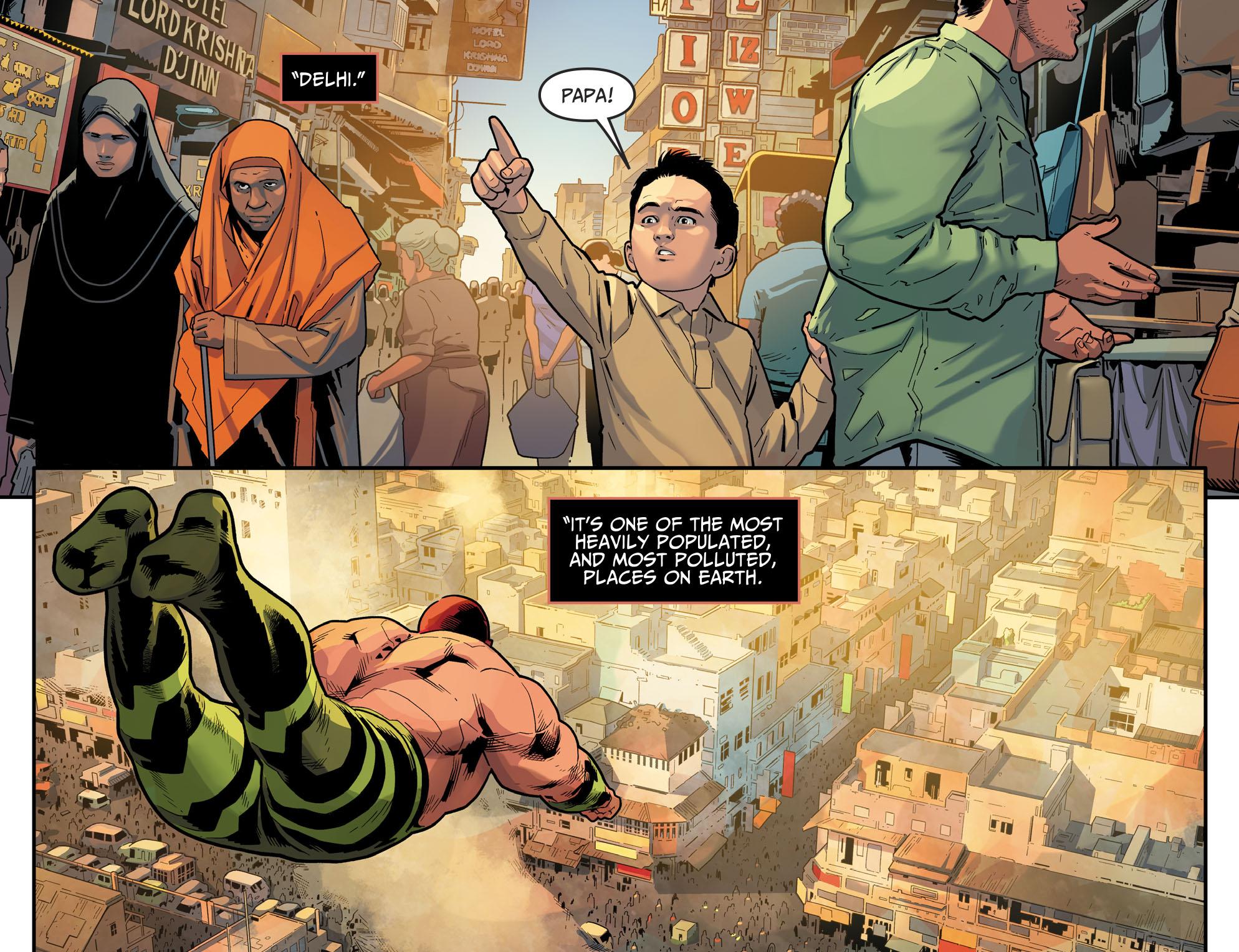 Amazo Destroys Delhi (Injustice II)