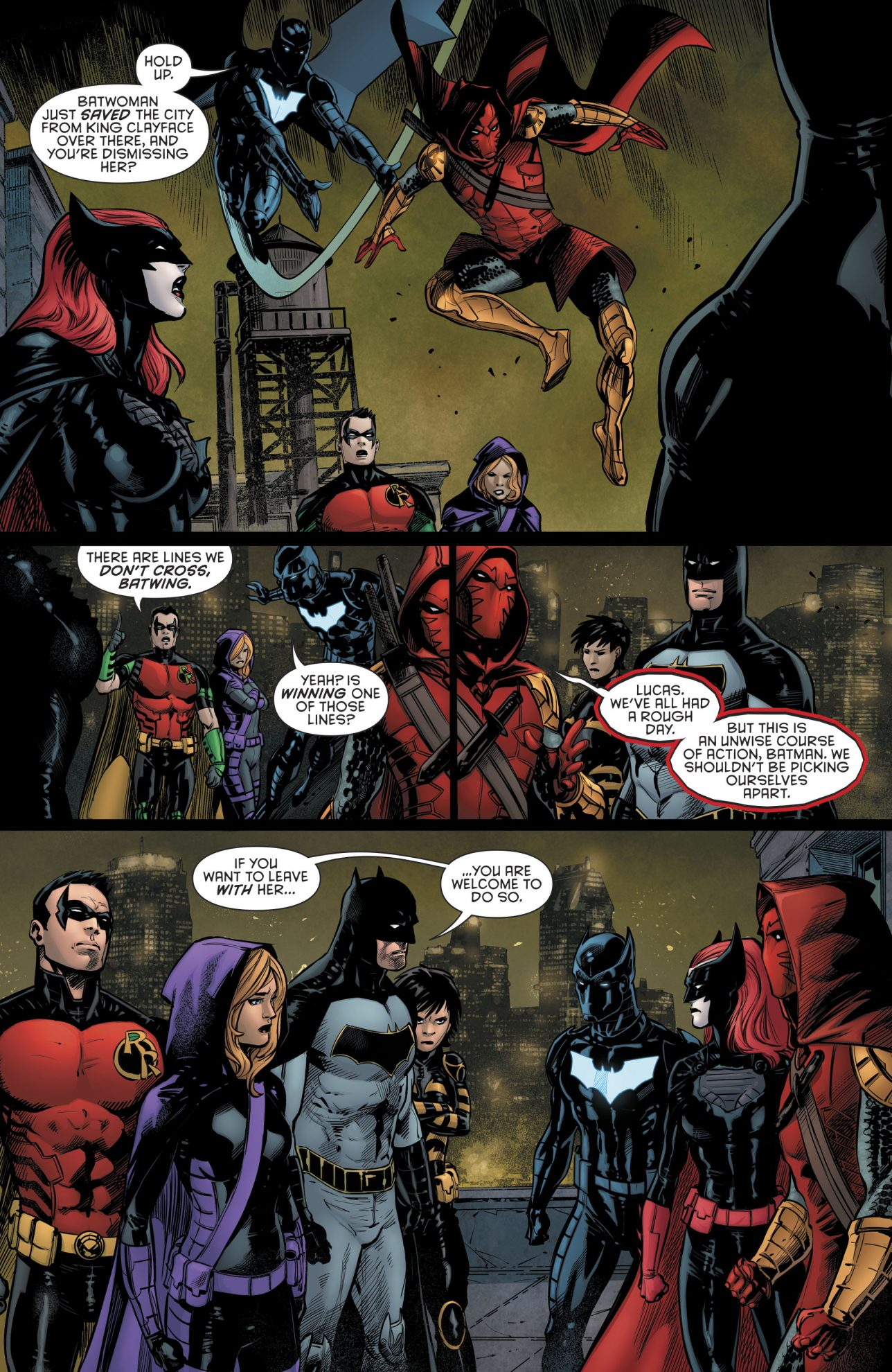Batman Removes Batwoman From His Team (Rebirth)
