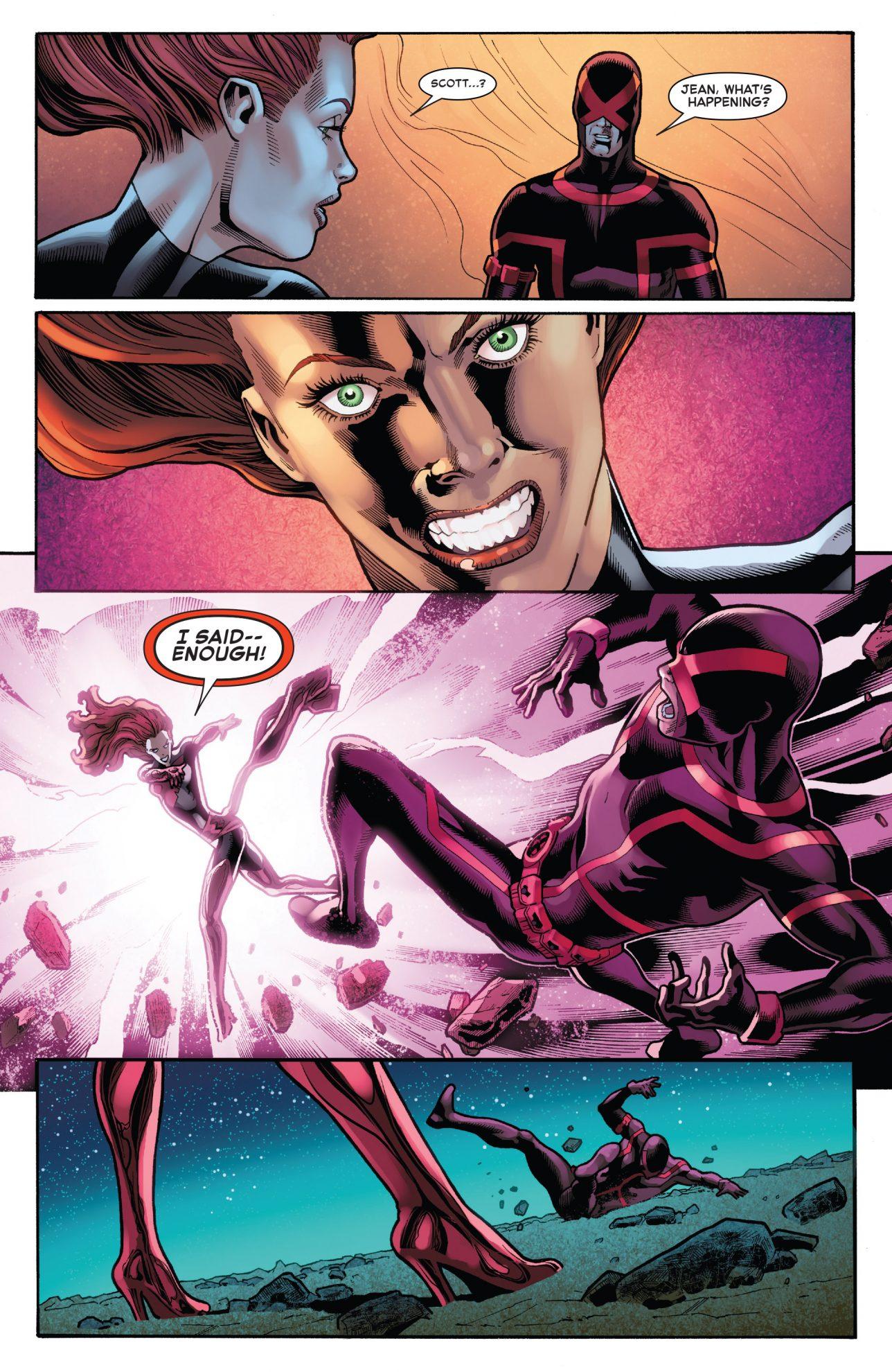 Cyclops And Jean Grey Reunion (Phoenix Resurrection)