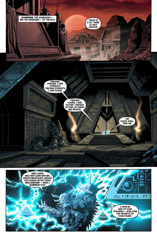 Darth Krayt Summons Ancient Sith Lords