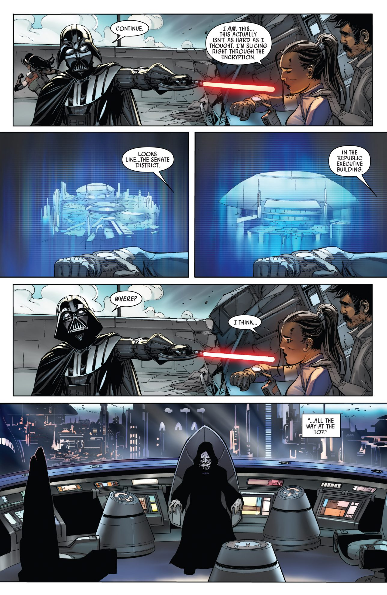 Darth Vader Captures The Cha Family