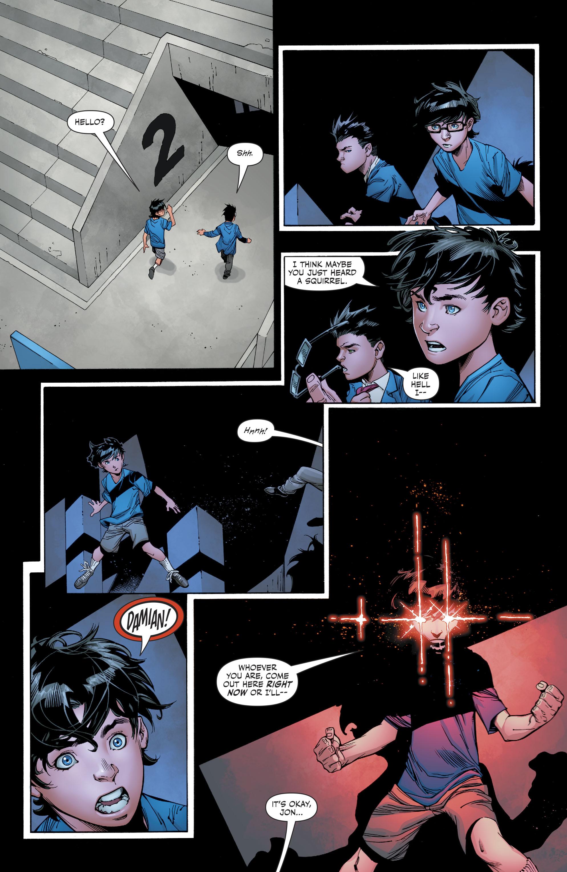 Superboy Meets Talia Al Ghul (Rebirth)