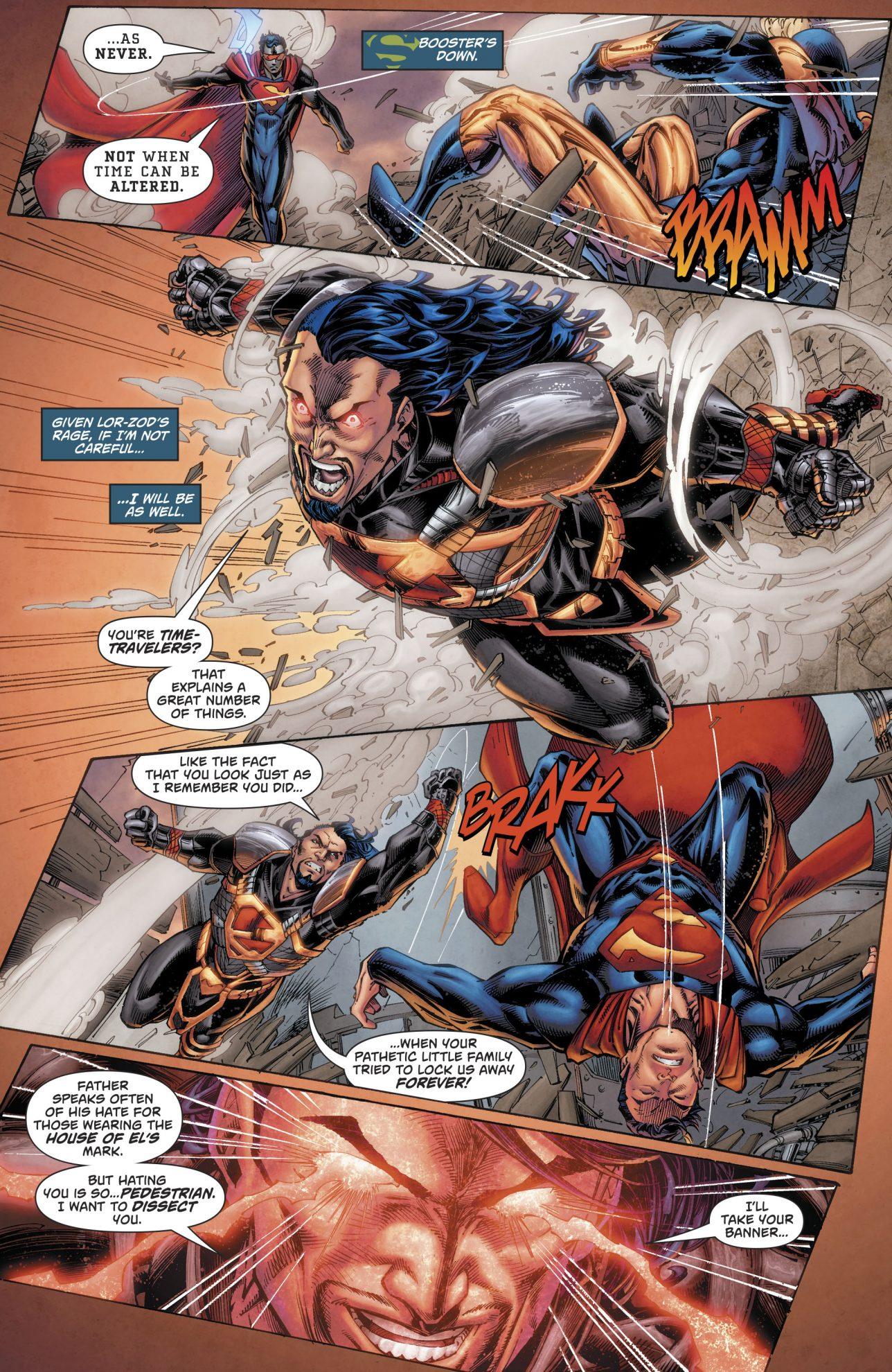 Superman VS Lor-Zod (Rebirth)