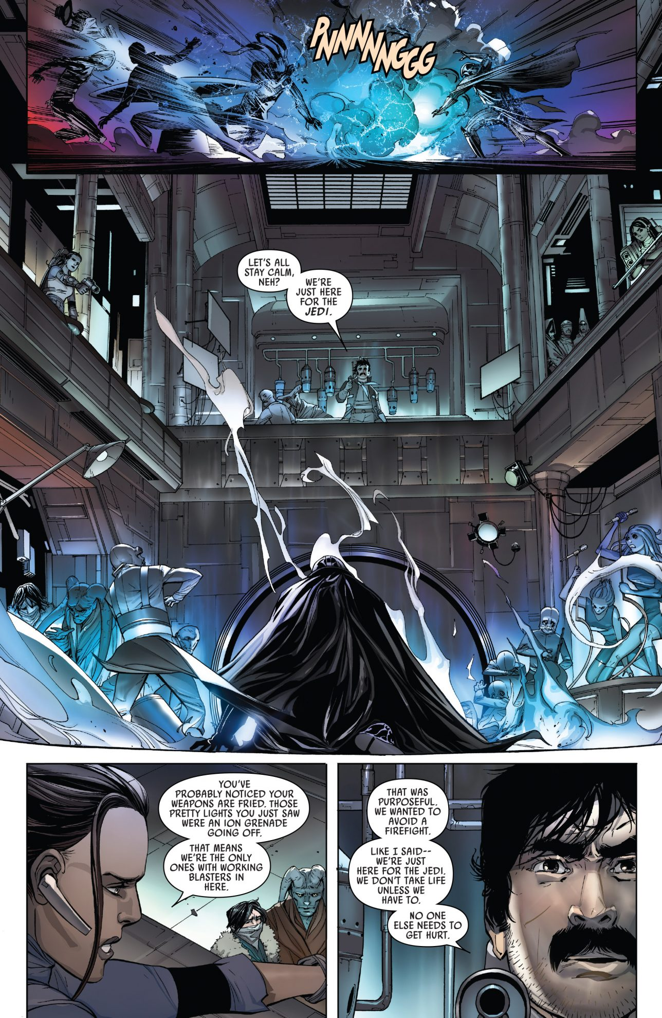The Cha Family Ambushes Darth Vader