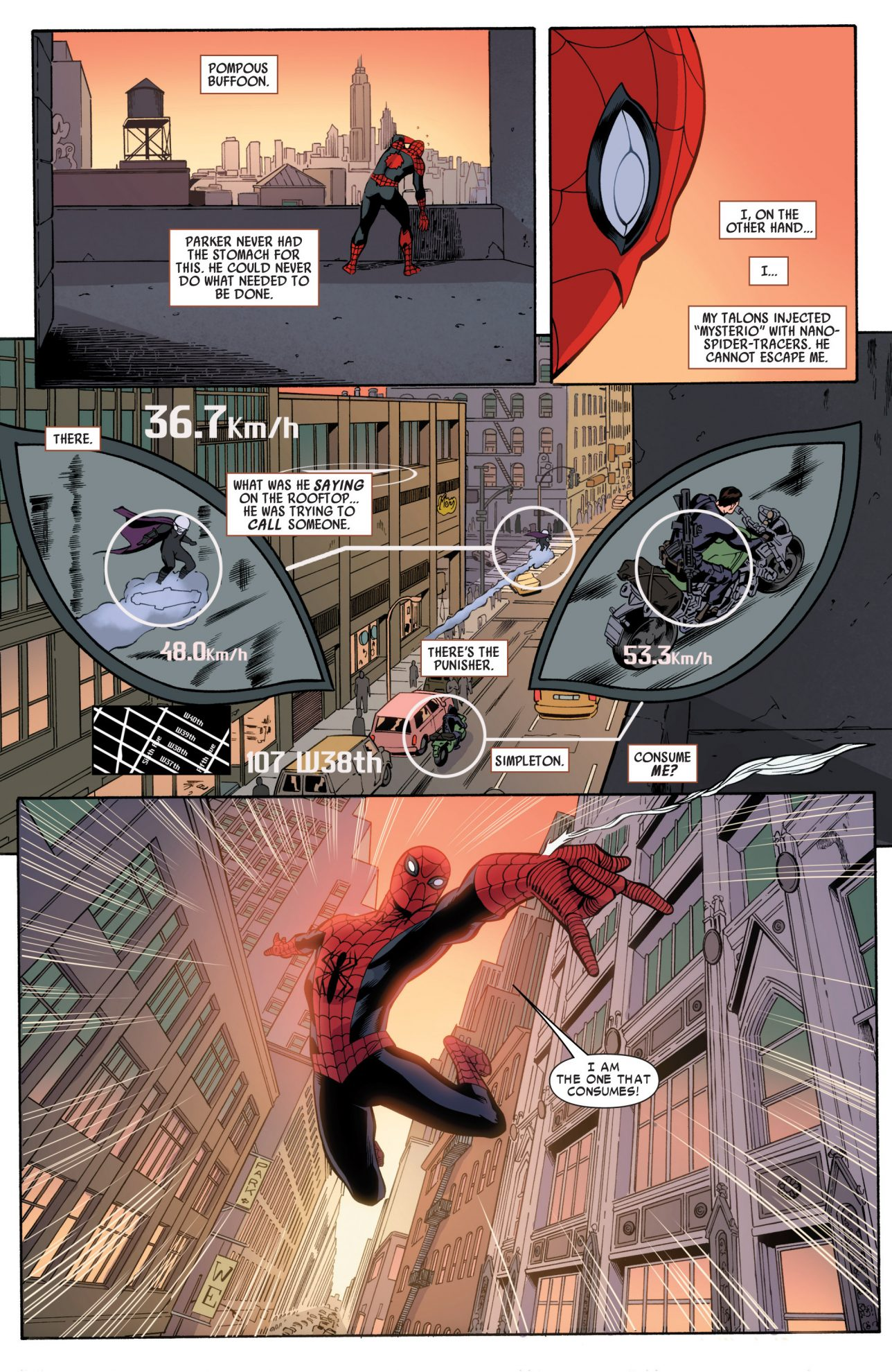 The Punisher Approves Of Superior Spider-Man's Methods