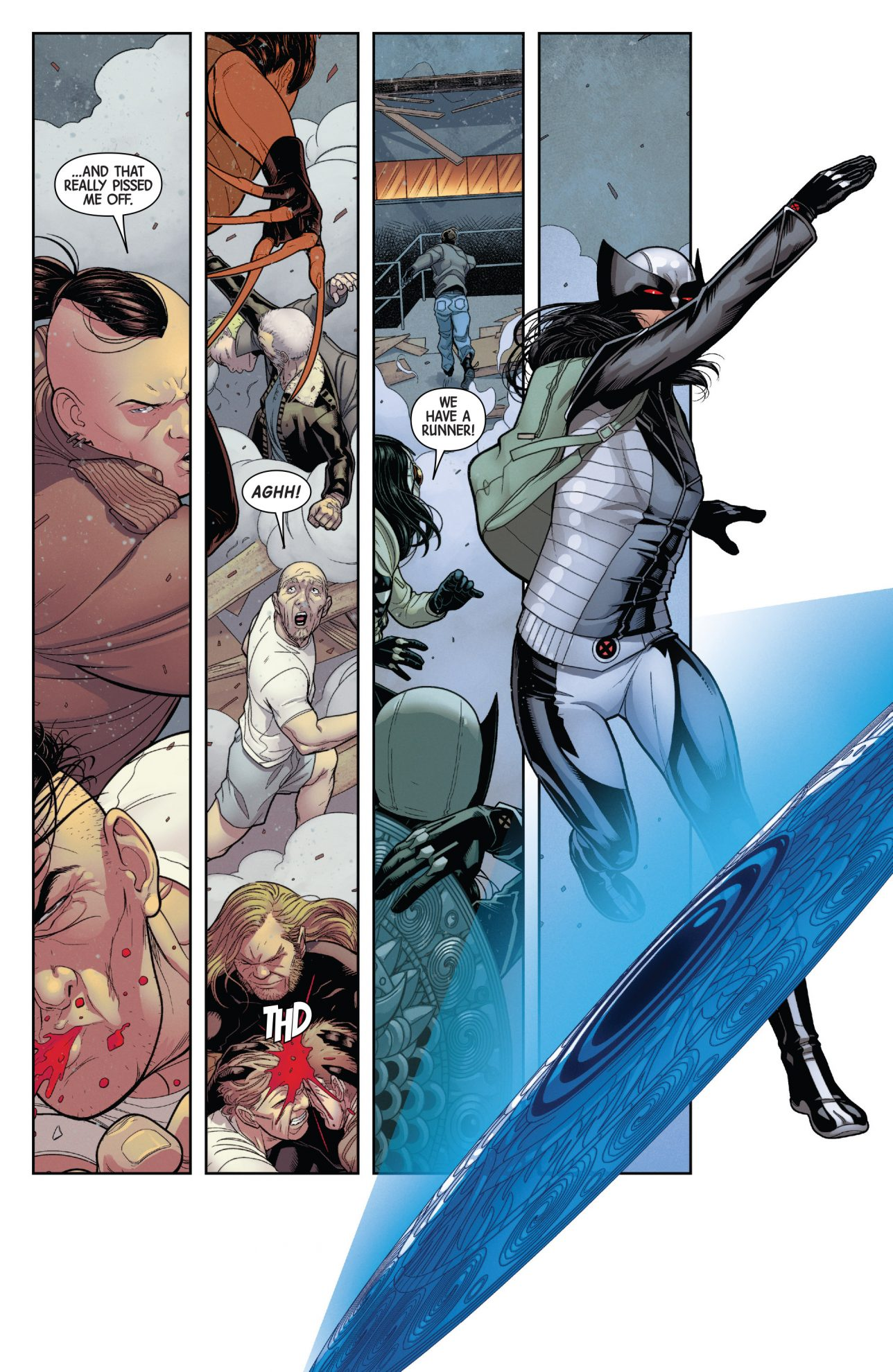 Weapon X VS Orphans Of X