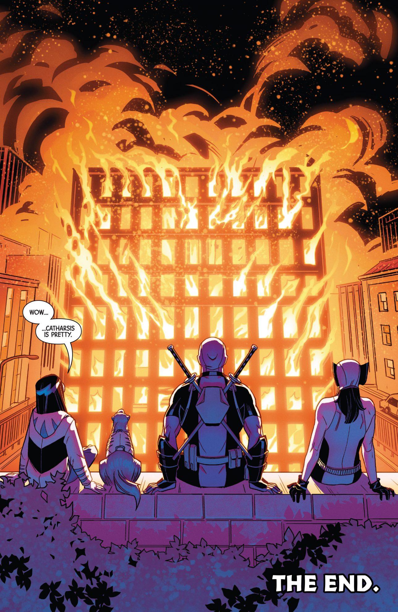 All New Wolverine, Honey Badger And Deadpool