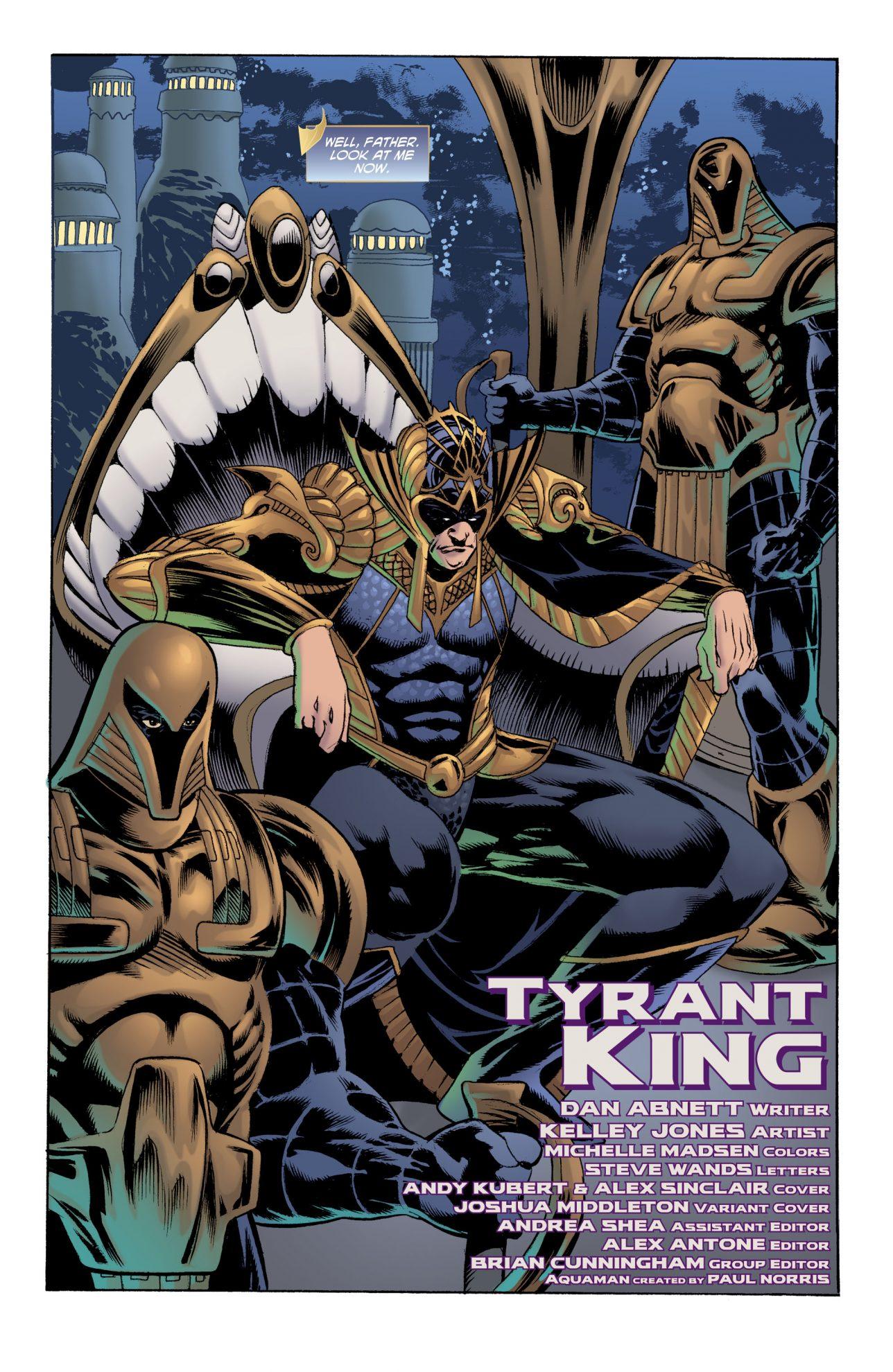 Corum Rath King Of Atlantis (Aquaman Vol 8 #34)