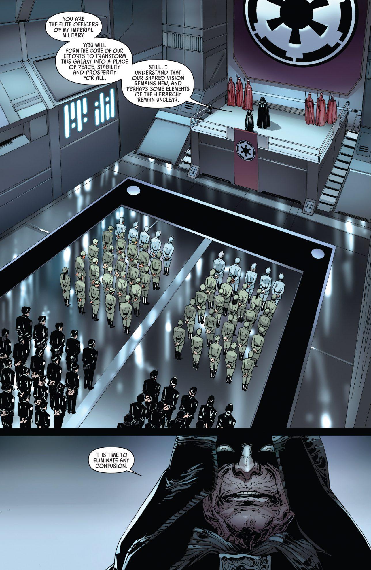 Darth Vader Executes Random Imperial Officers