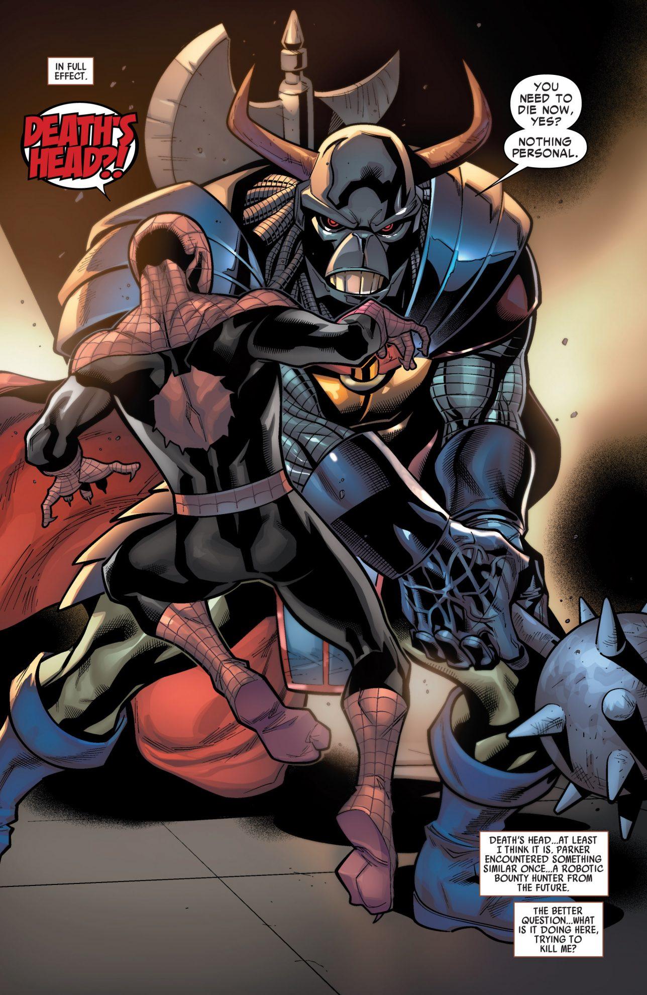 Deaths Head (Avenging Spider-Man #17)