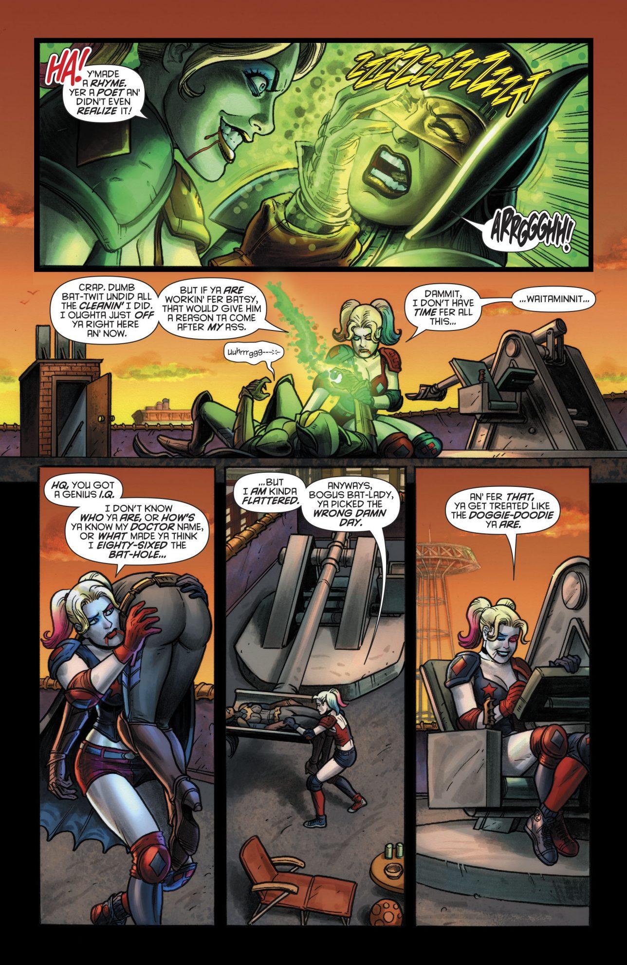 Harley Quinn Meets Devani Kage