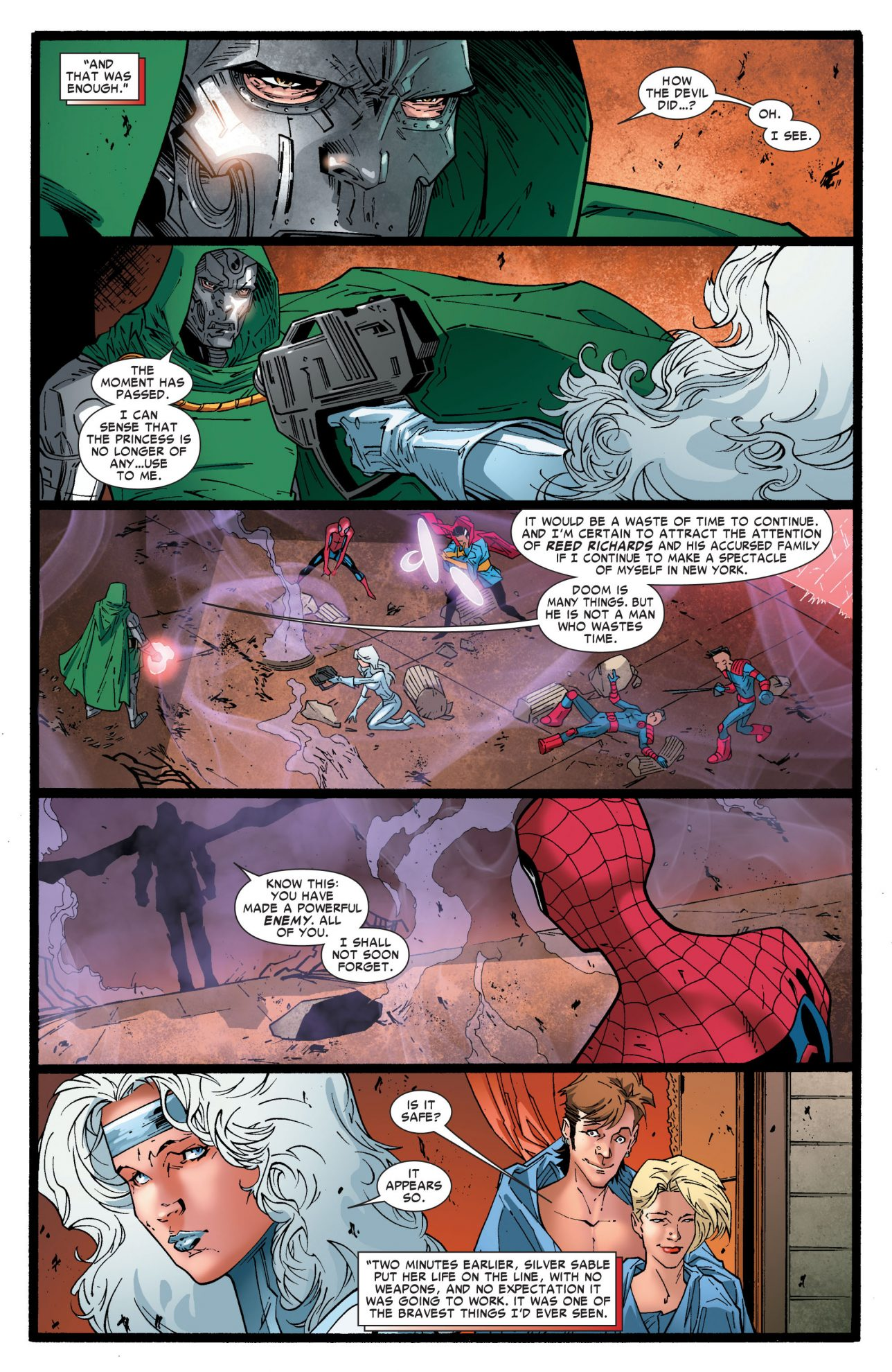 How Silver Sable Beat Doctor Doom