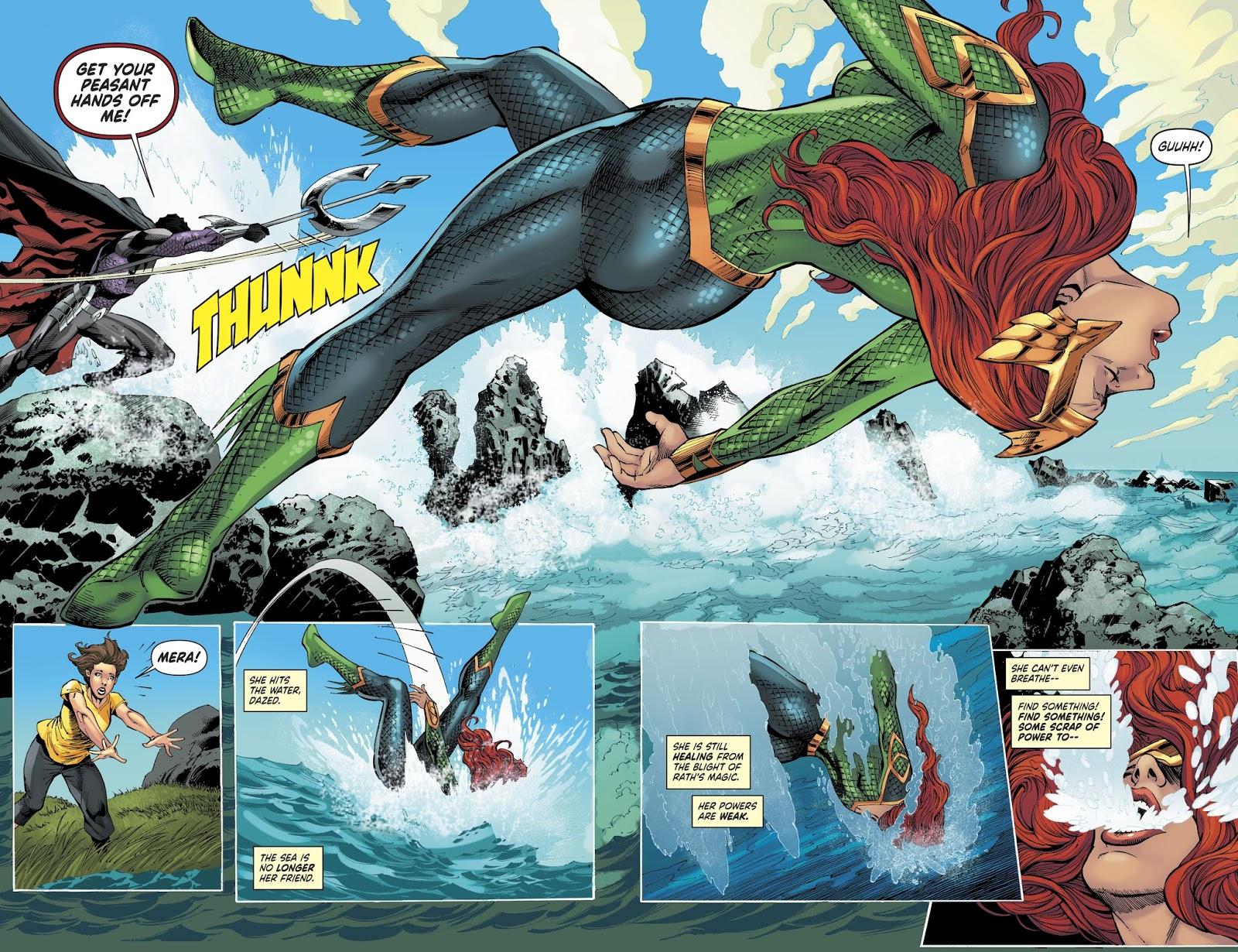 Ocean Master VS Mera (Rebirth)