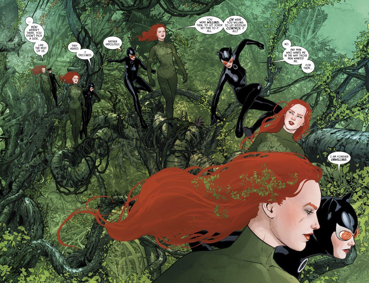 Poison Ivy and Catwoman (Batman Vol 3 #43)