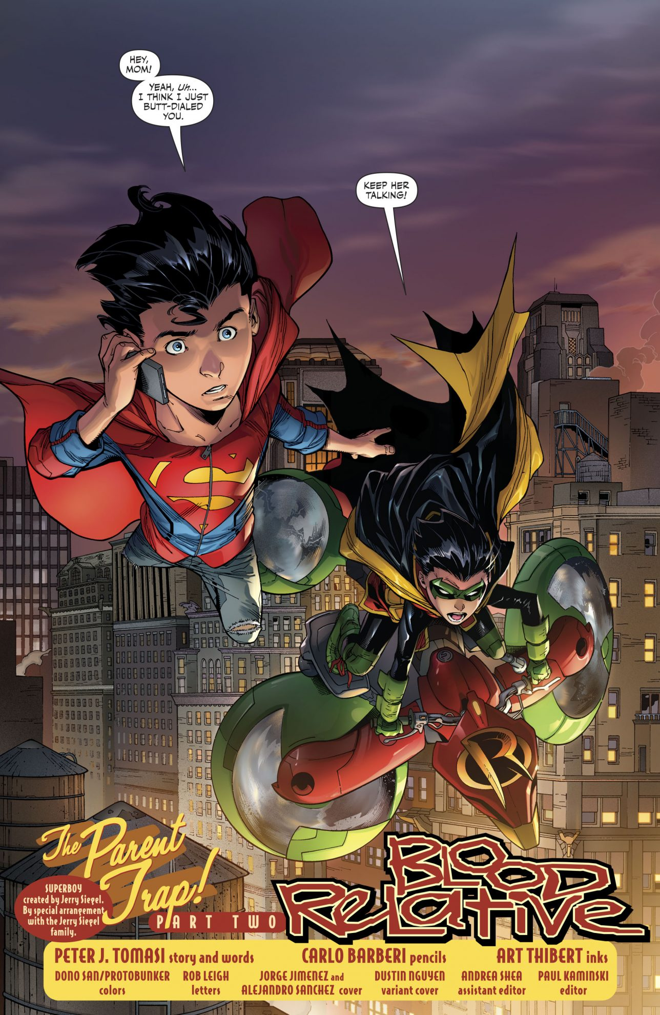 Superboy And Robin (Supersons #14)