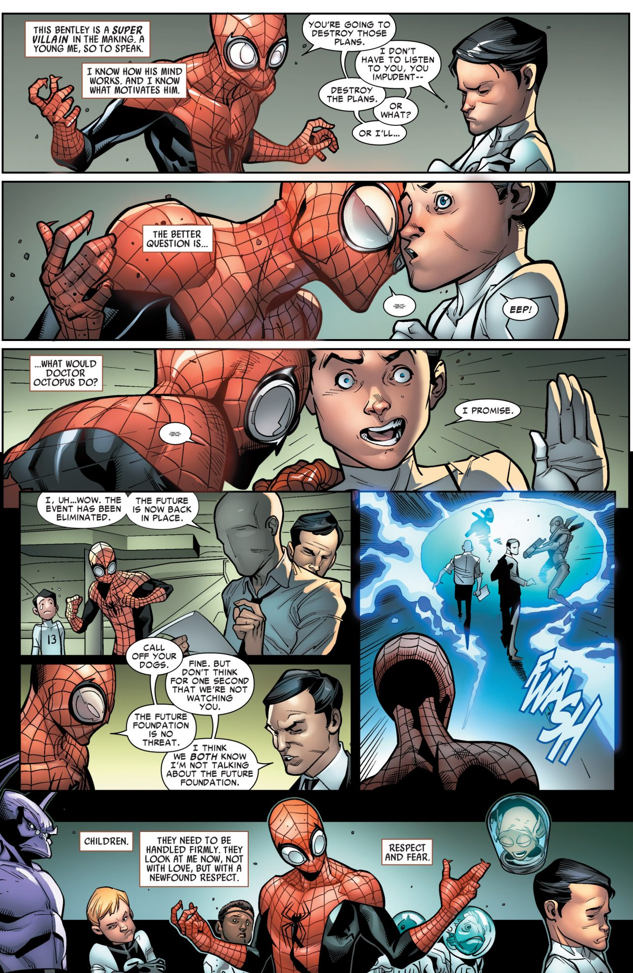 Superior Spider-Man Blackmails An Evil Kid