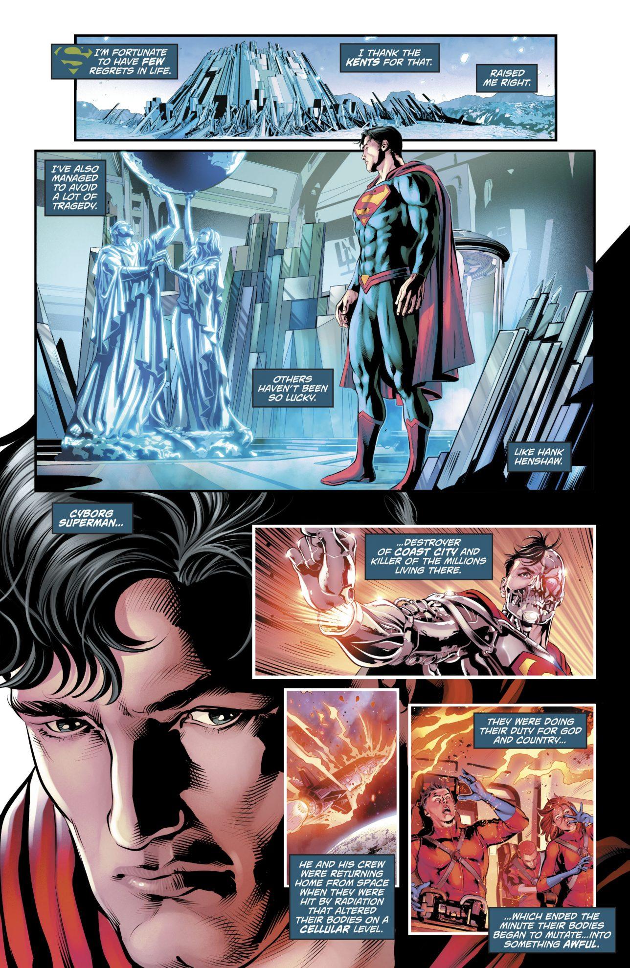 Why Superman Feels Sorry For Cyborg-Superman