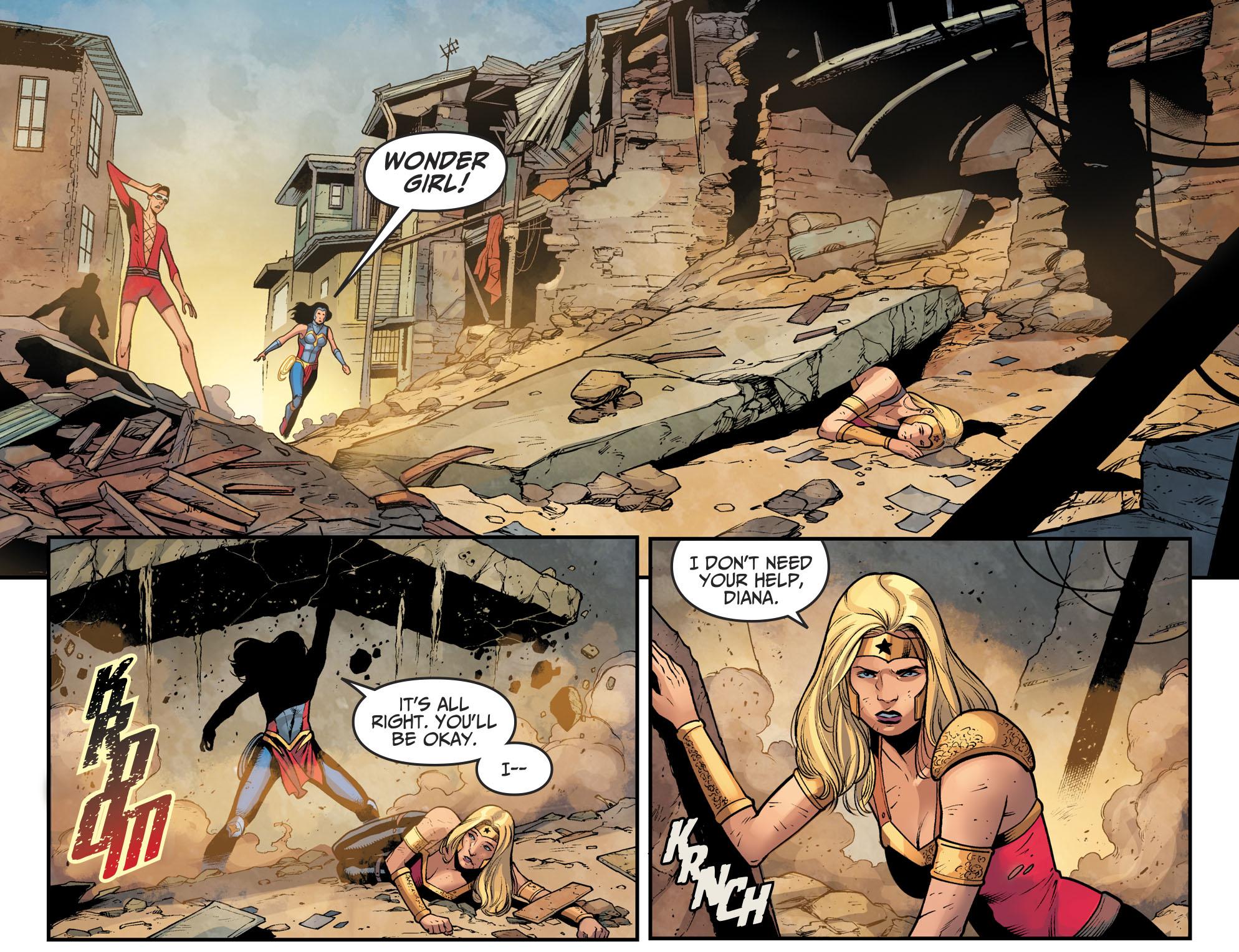 Wonder Woman And Wonder Girl (Injustice II)