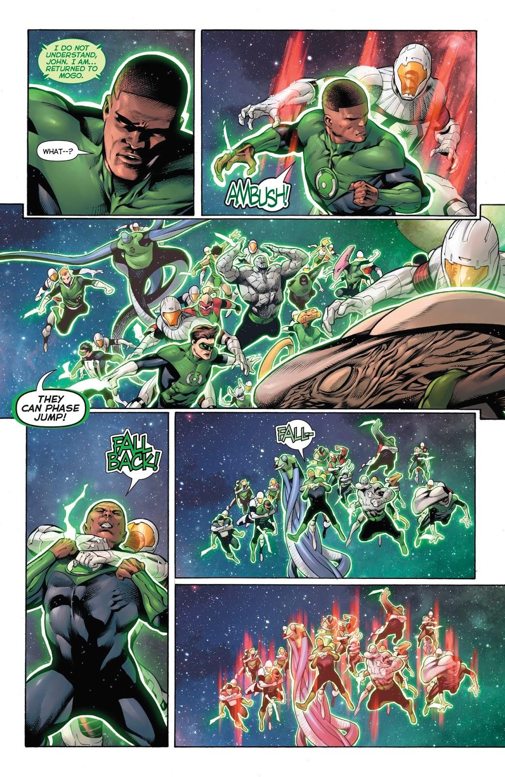 Darkstars Can Easily Kill Green Lanterns