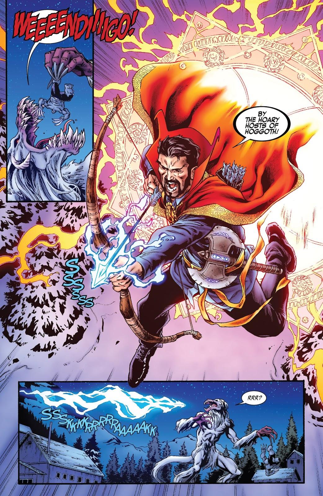 Doctor Strange VS Wendigo