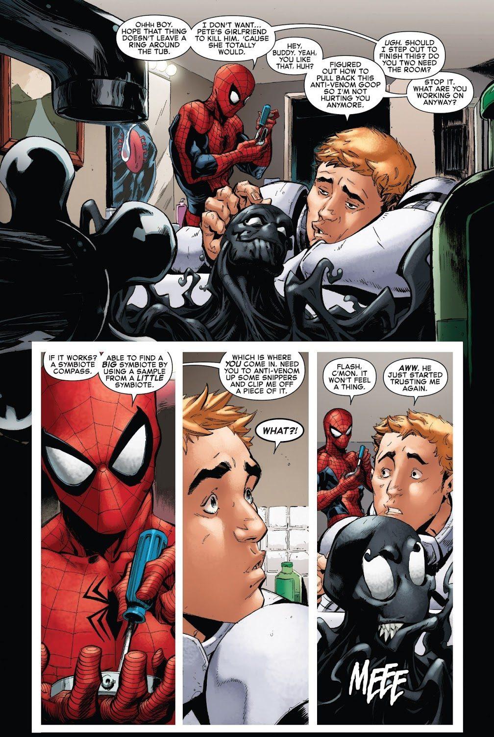 Flash Thompson Loves The Venom Symbiote