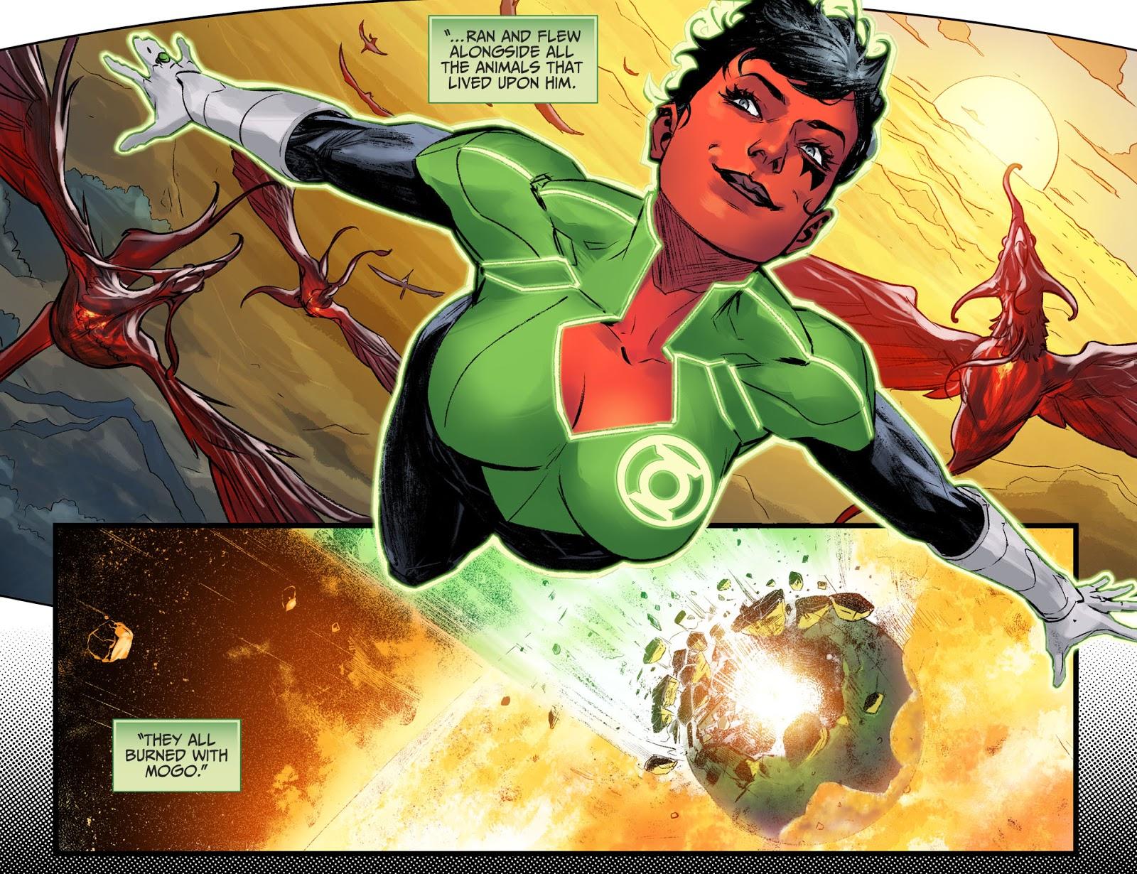 Green Lantern Soranik Natu (Injustice II)