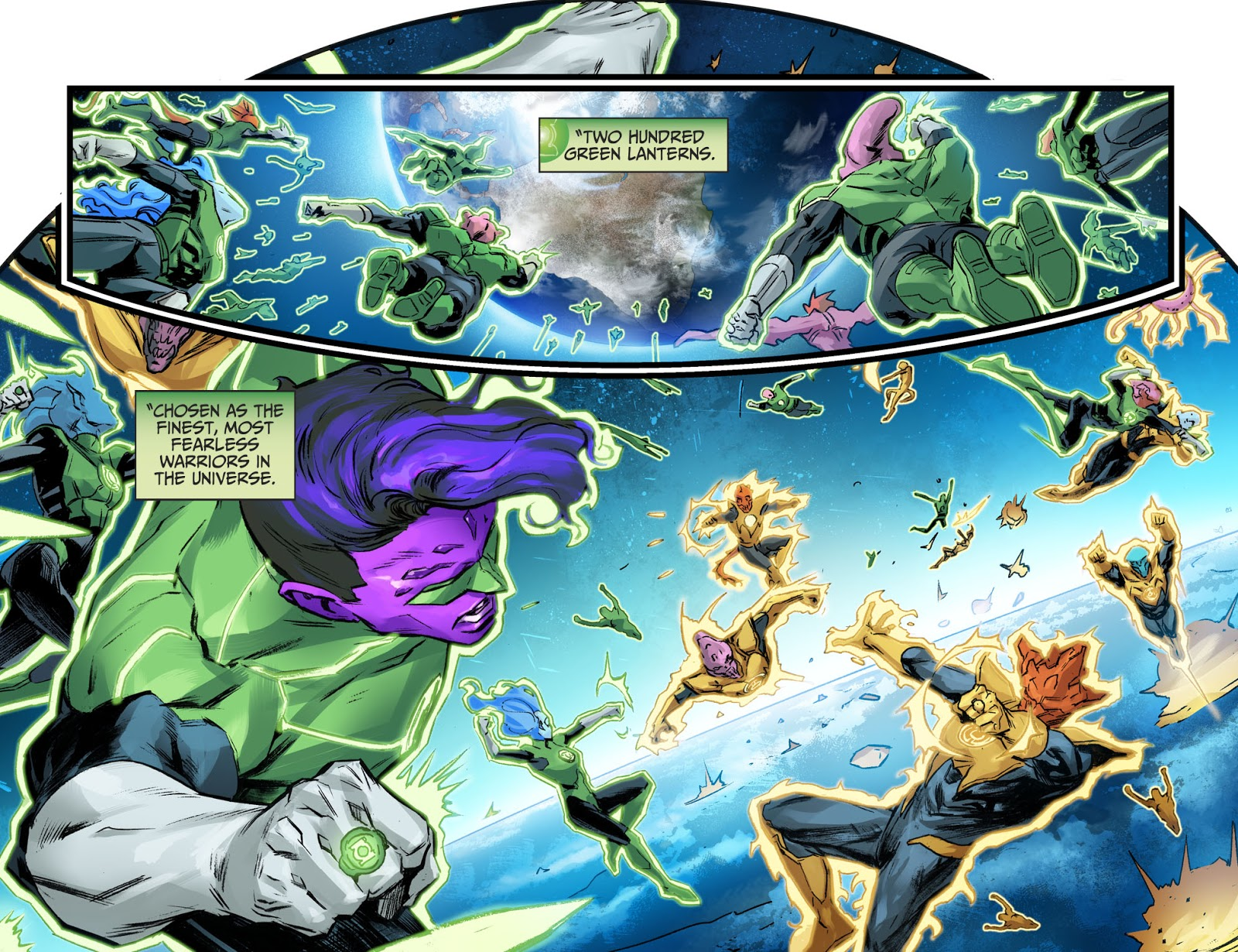 Hal Jordan's Punishment From The Guardians (Injustice II) 1
