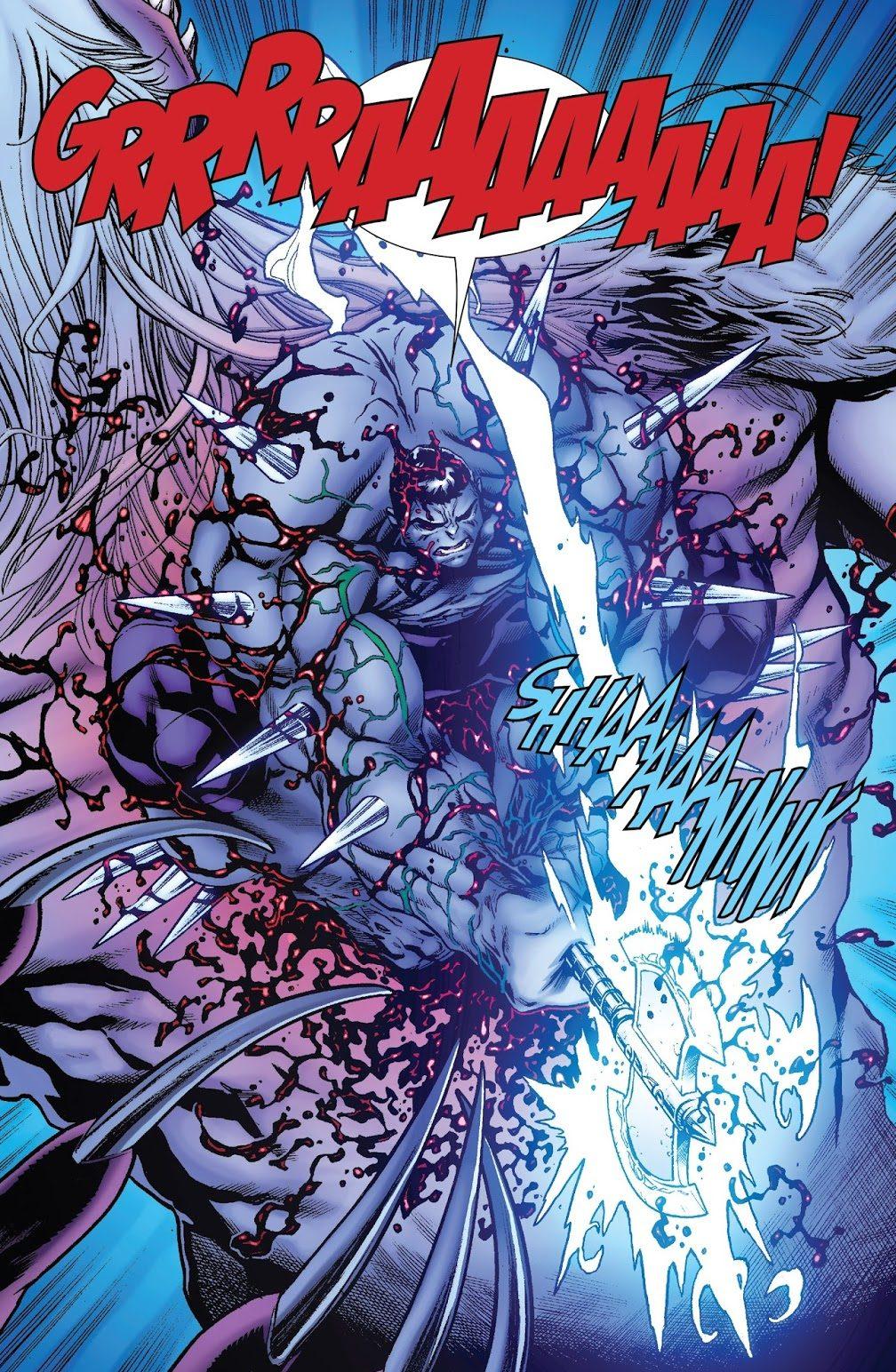 Hulkverine Kills A Wendigo