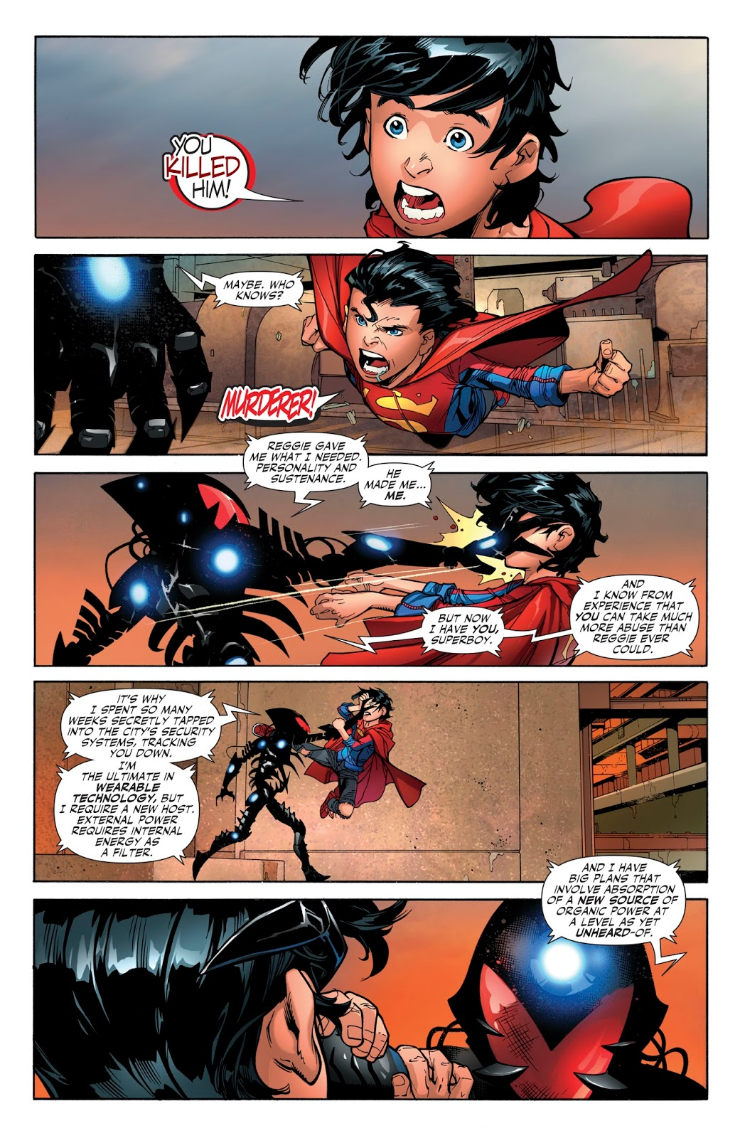 Kid Amazo Captures The Justice League