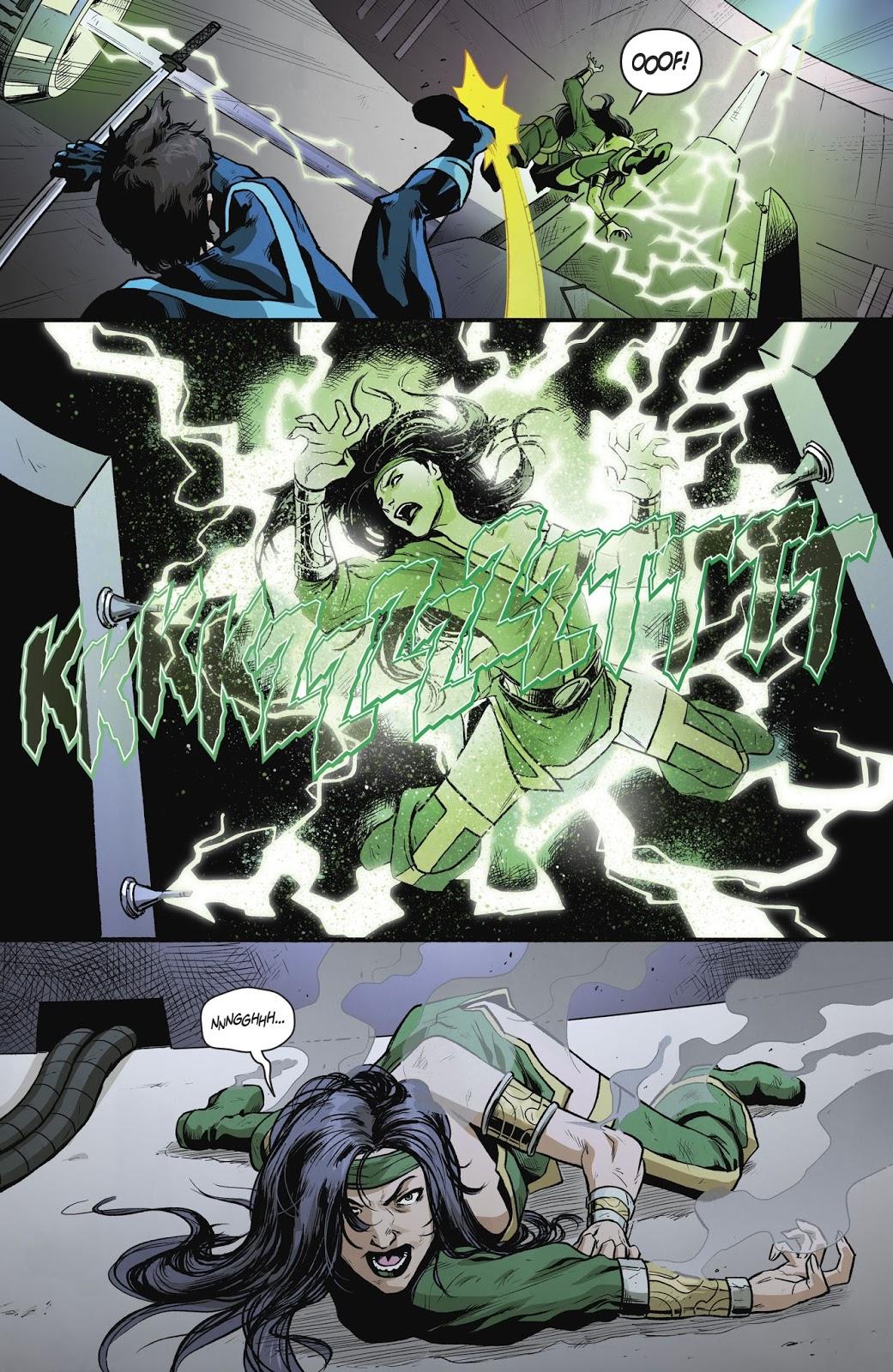 Nightwing VS Cheshire (Rebirth)