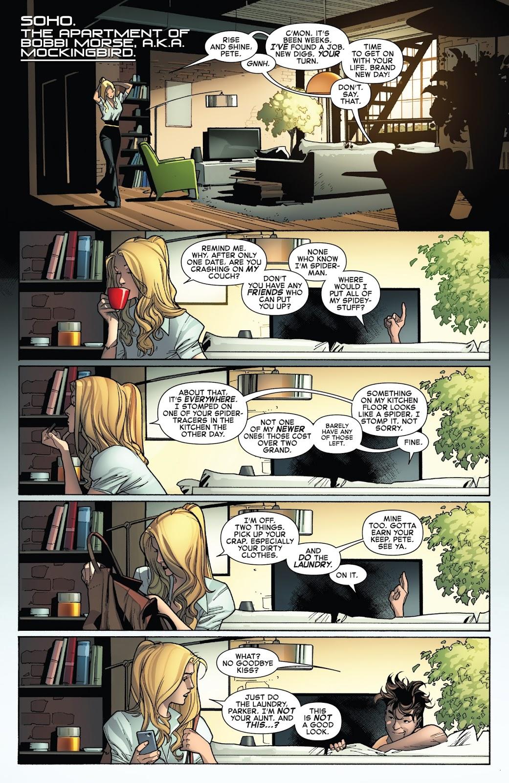 Peter Parker As A Bum