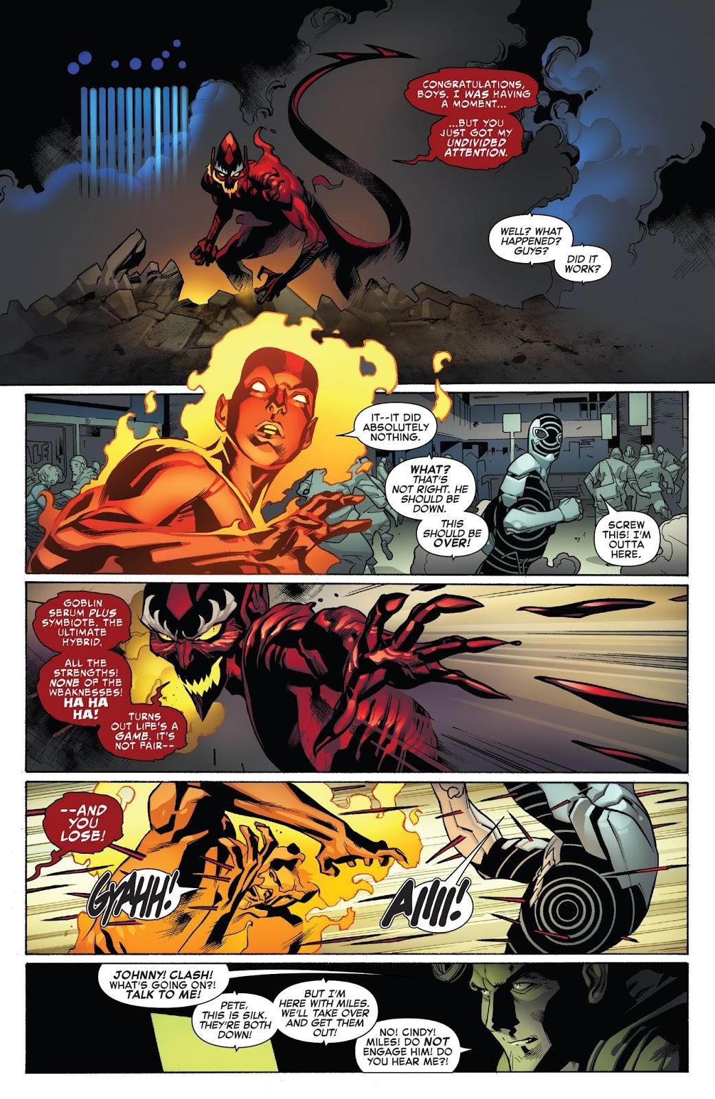 Red Goblin VS Spider-Man's Friends