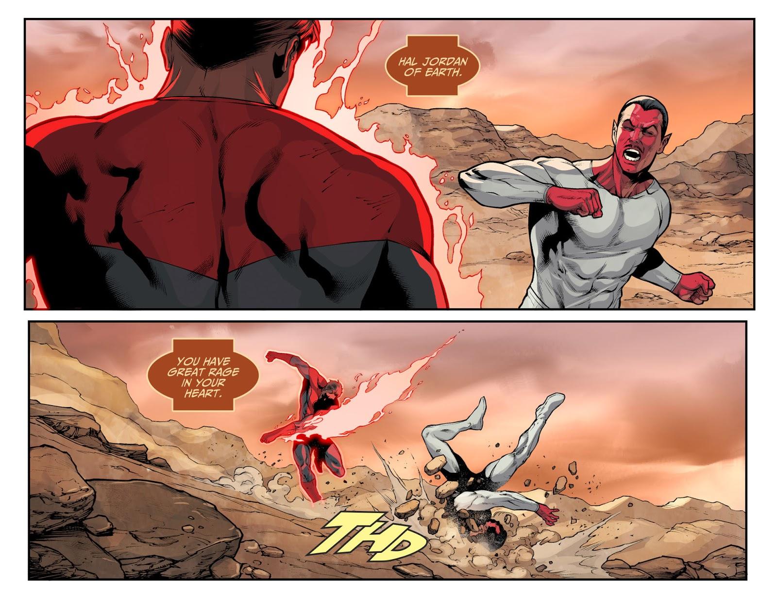 Red Lantern Hal Jordan (Injustice II)