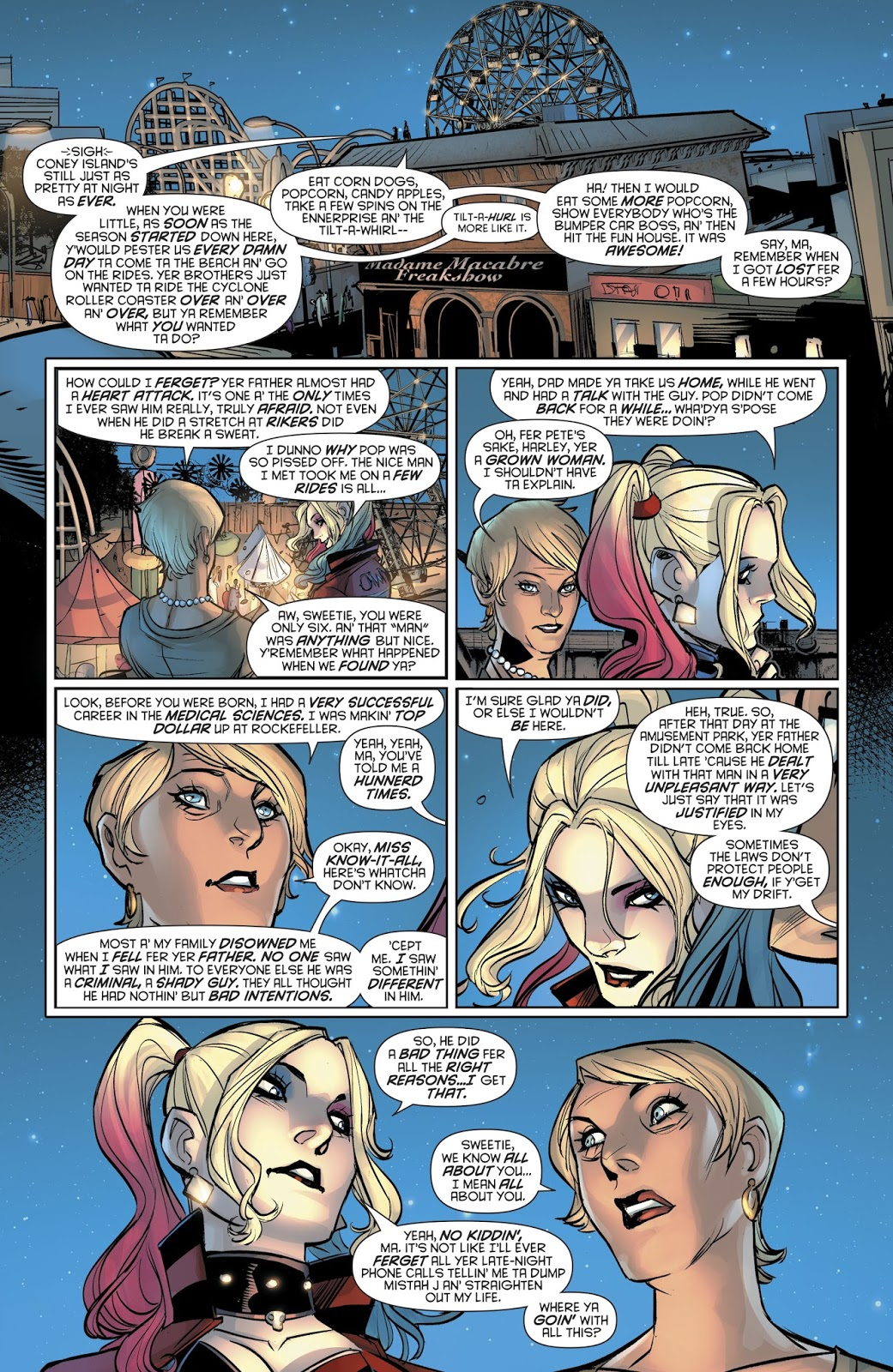 Relationship Advice From Harley Quinn's Mother 1