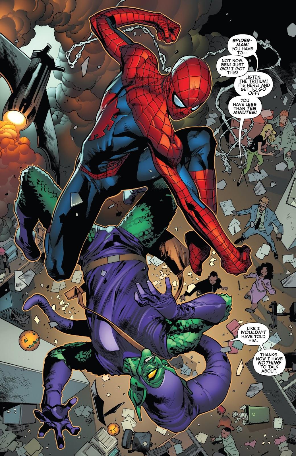 Spider-Man And Green Goblin (Amazing Spider-Man Vol 1 #798