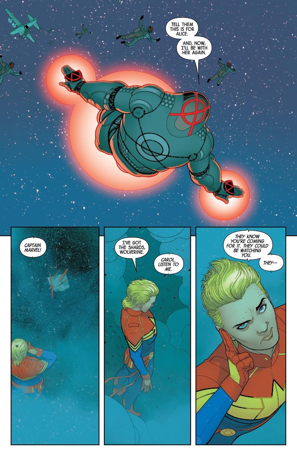 The Orphans Of X VS Captain Marvel