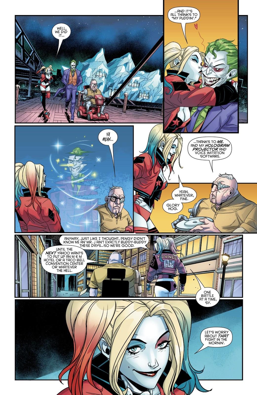 The Penguin Is Afraid Of The Joker (Harley Quinn Vol. 3 #27)