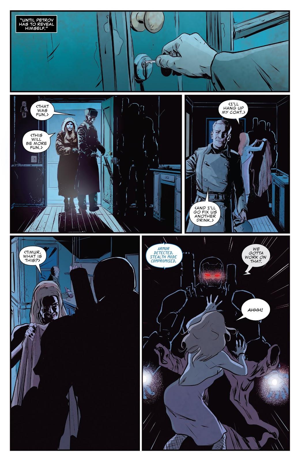 The Punisher Kills Petrov's Inner Circle