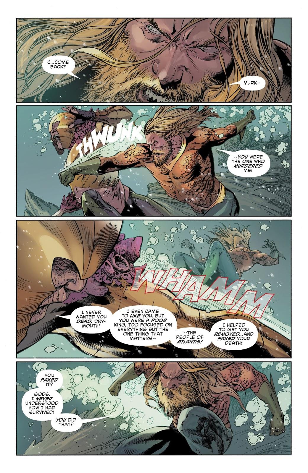 Why Murk Betrayed Aquaman