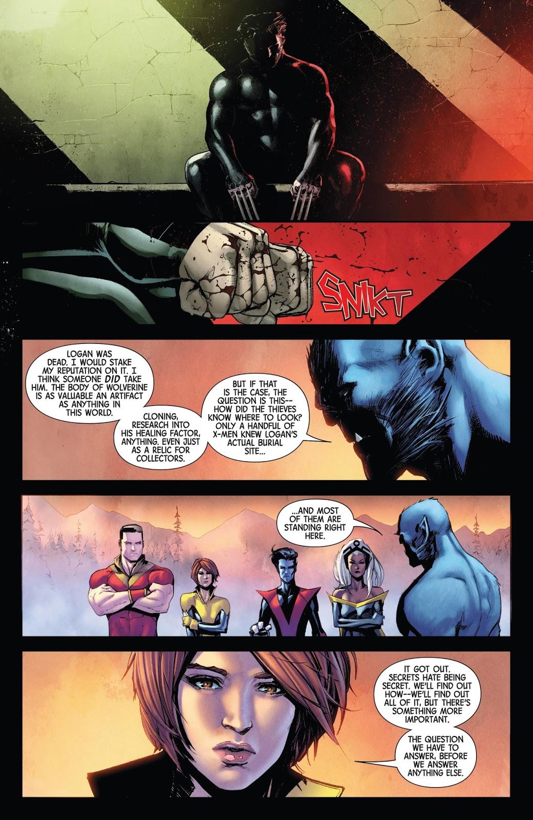 Wolverine (Hunt For Wolverine #1)
