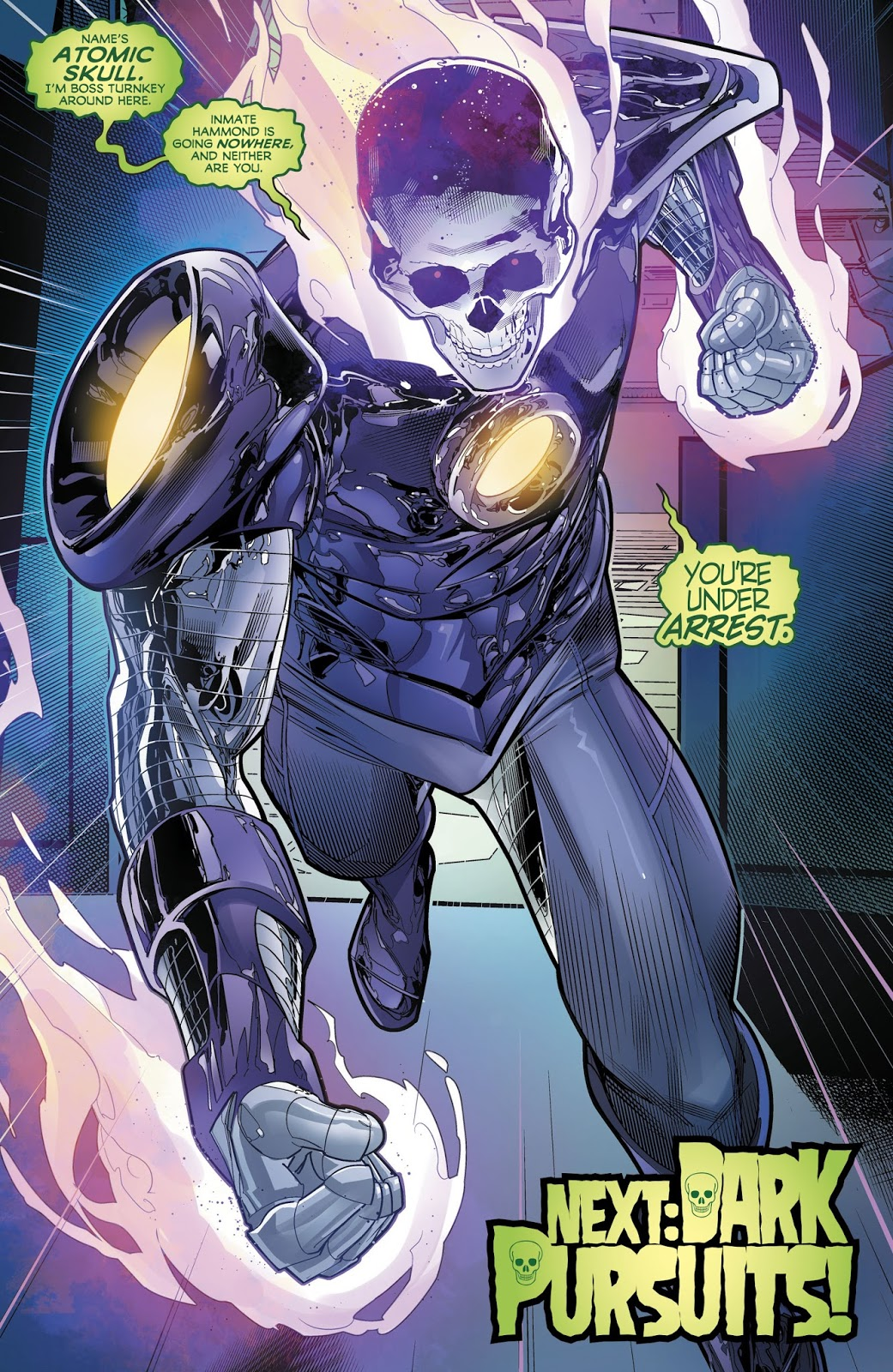 Atomic Skull (Hal Jordan And The Green Lantern Corps #44)