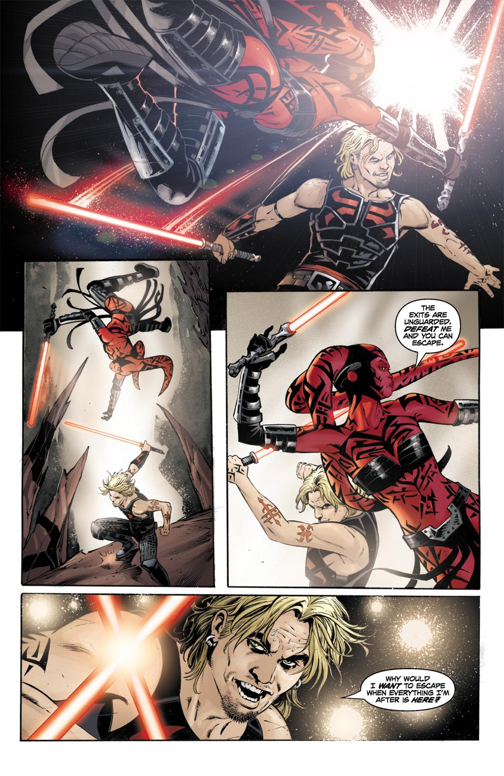 Cade Skywalker Spars With Darth Talon