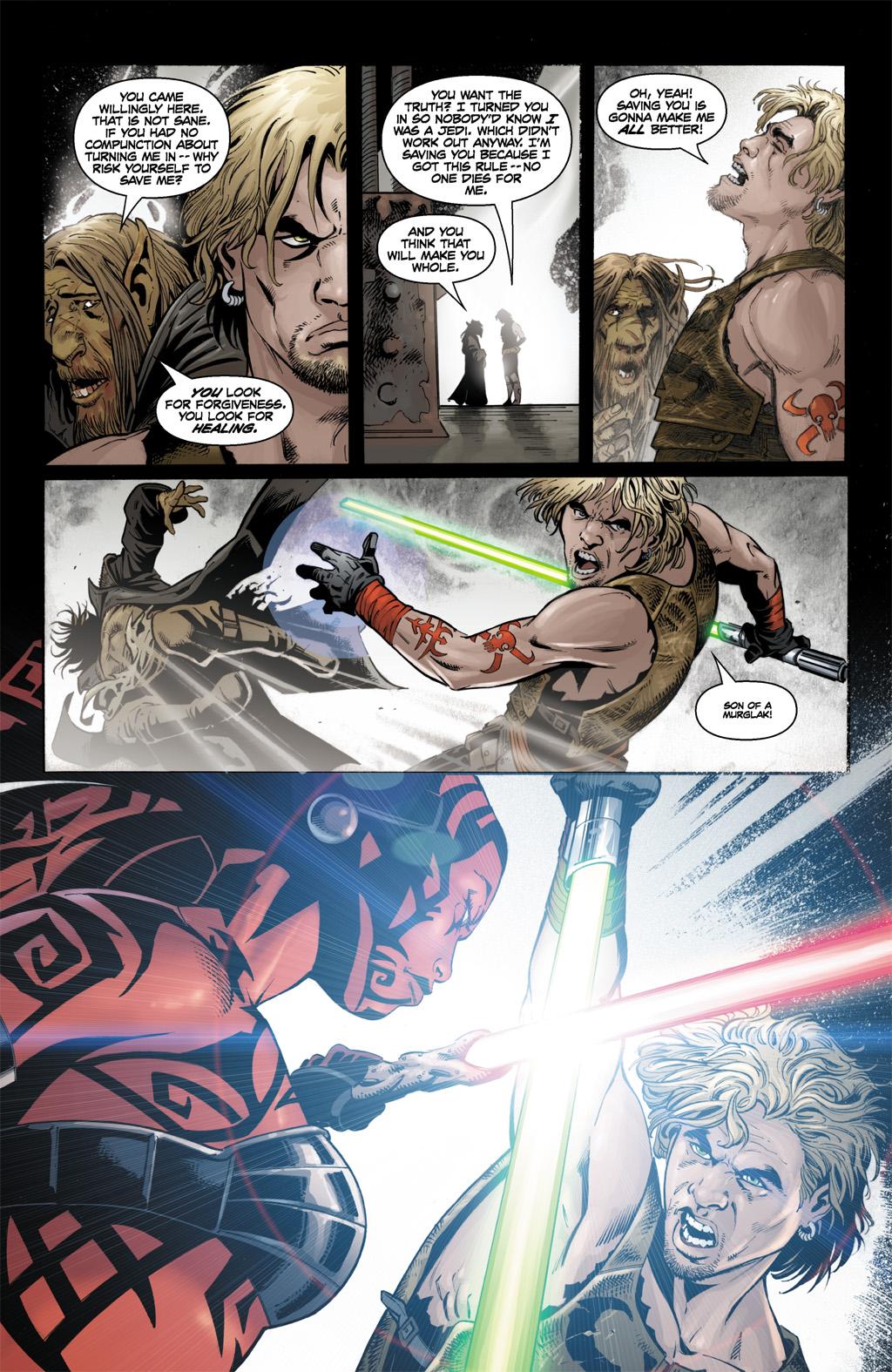 Cade Skywalker VS Darth Talon