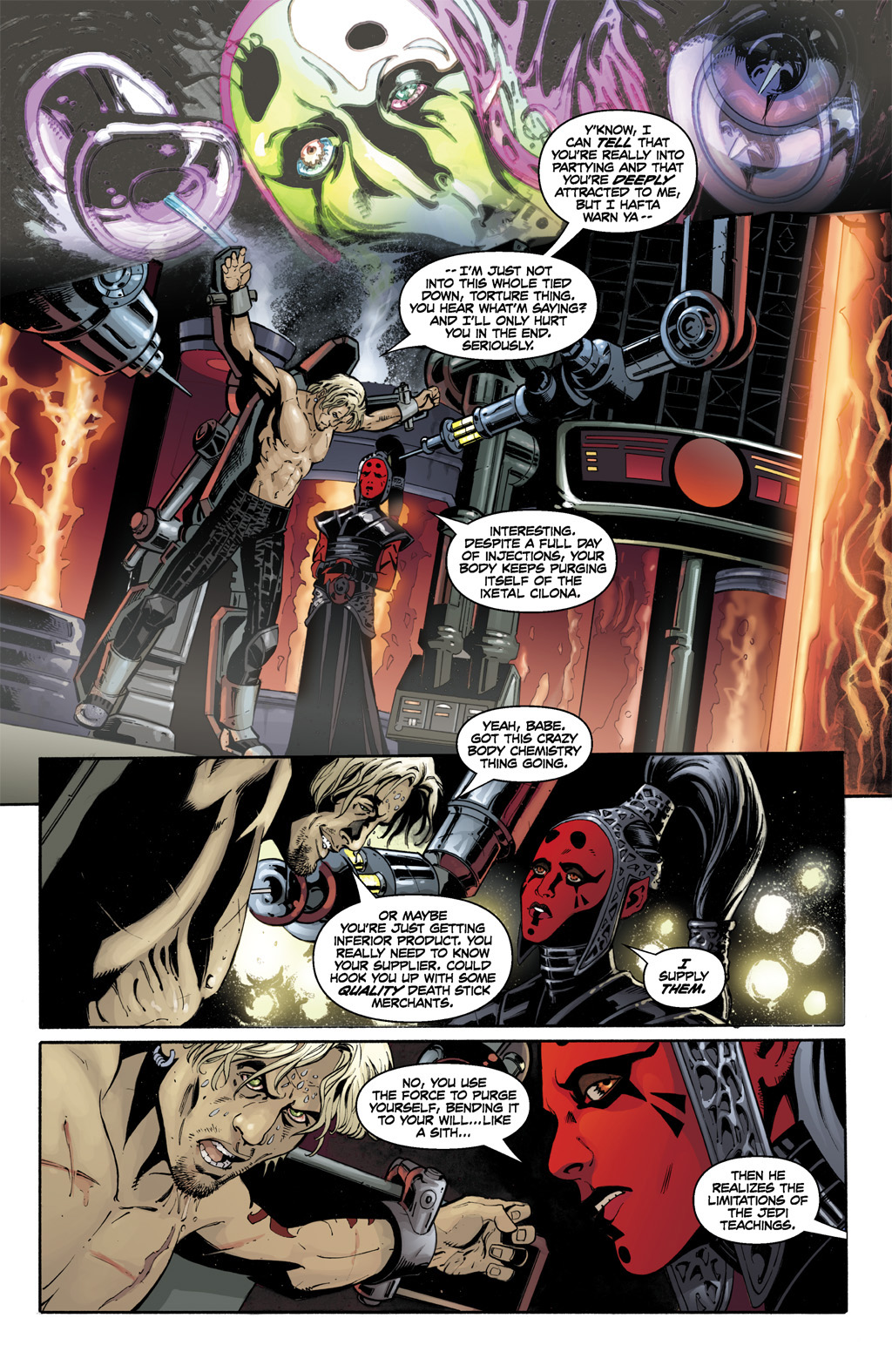 Darth Maladi Tortures Cade Skywalker